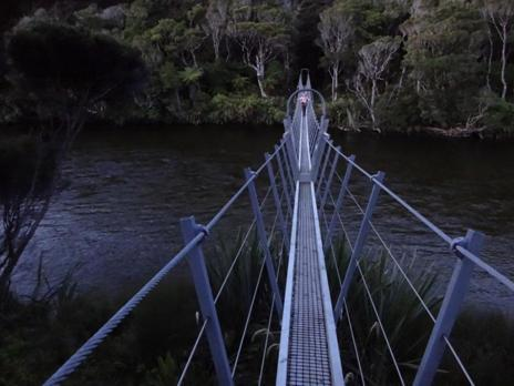 Crossing the Waitutu.