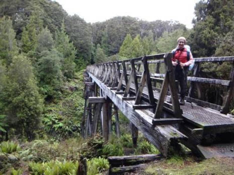 Edwin Burn Trestle Bridge.