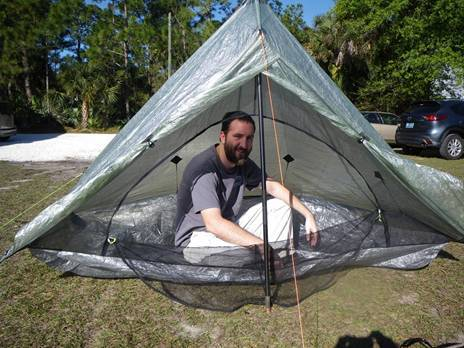 Zpacks Ultralight Tent
