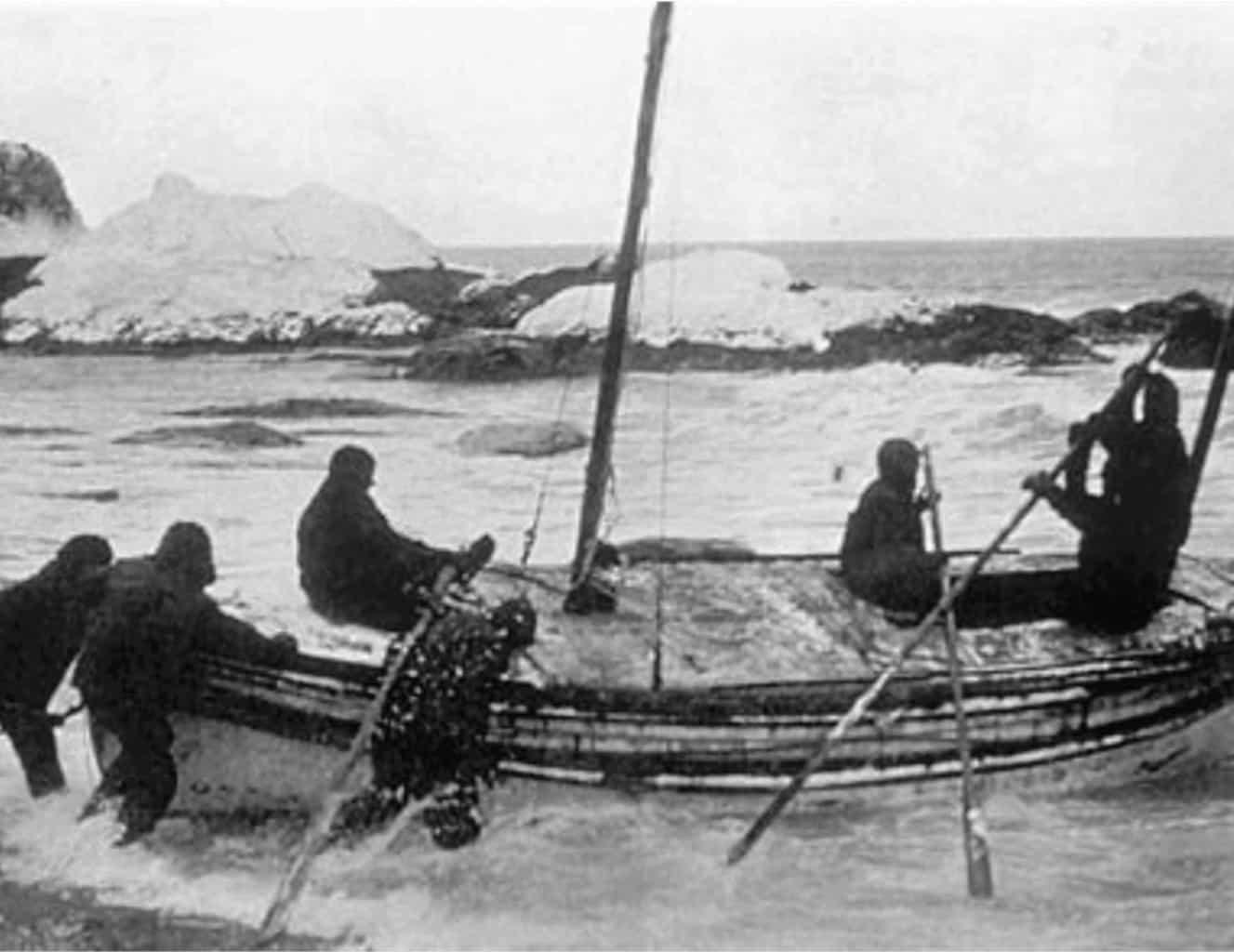 THRILLING TALES #5: Shackleton
