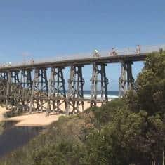 Trestle Bridge Kilcunda Victoria
