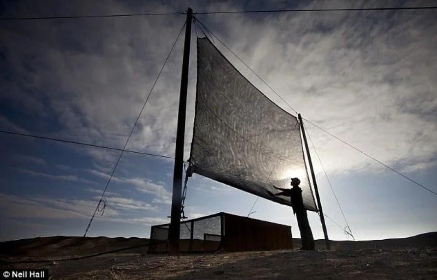 Atacama Desert Fog Screen
