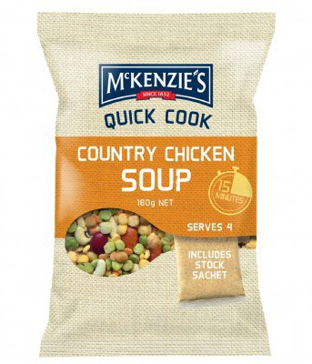 Mckenzie's Country Chicken Soup with Lemon & Black Pepper Tuna
