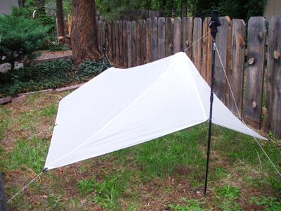 Making an SUL Tarp& Pack: