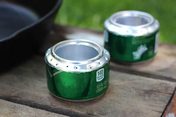 Soda Can Stove: