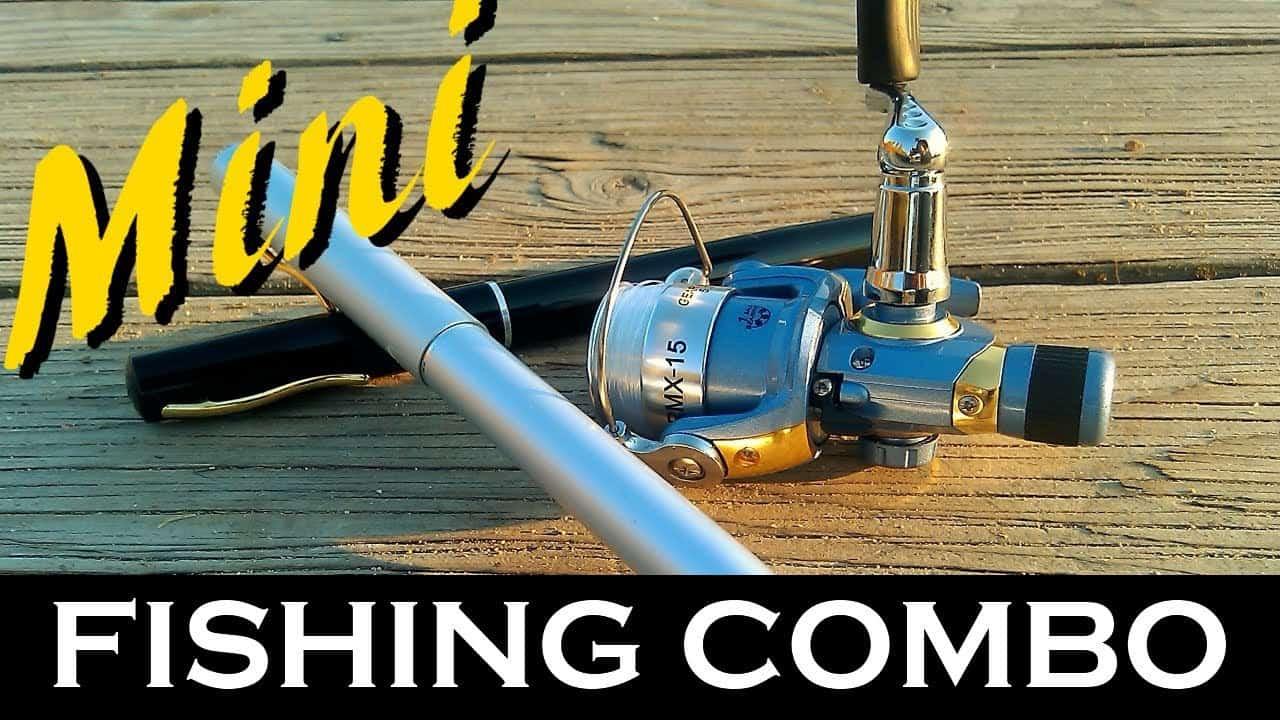 Pen Fishing Rods: