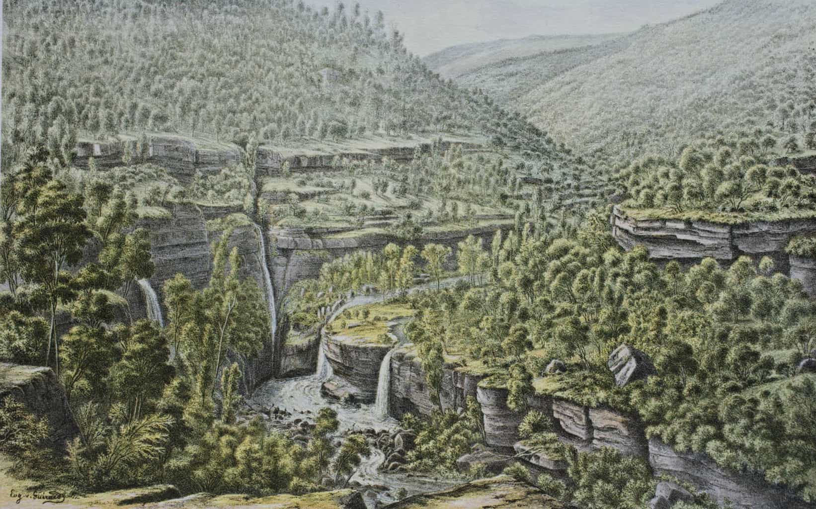 Moroka Gorge Falls: