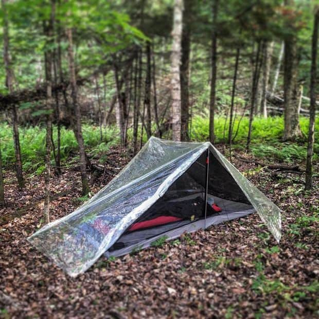 Clearview tent: