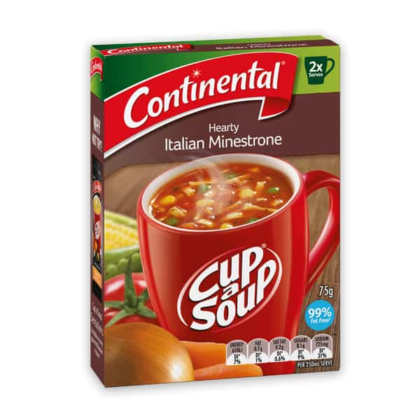Hiking Meals: Continental Hearty Italian Minestrone