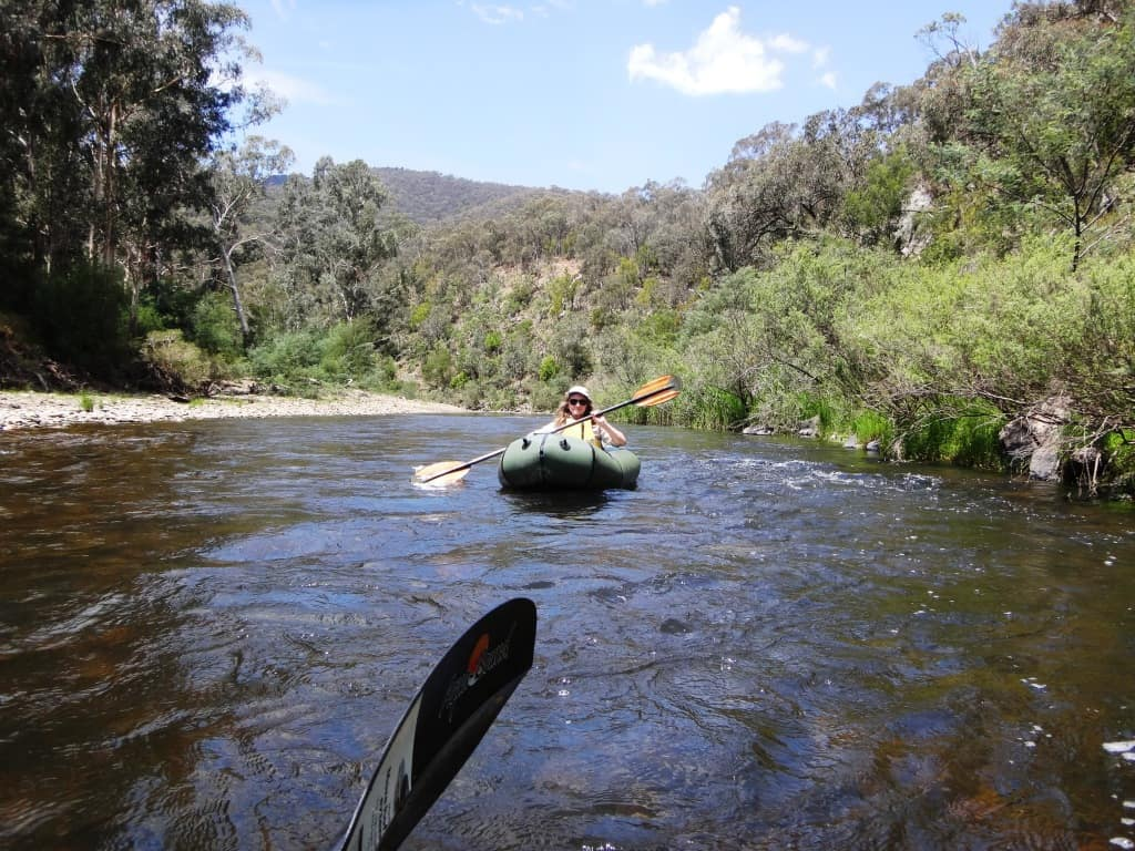 Canoeing the Wonnangatta,  Catching the Wave: