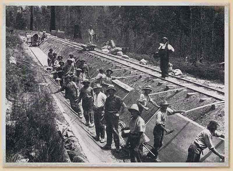 O'Shanessy Aquaduct Trail: