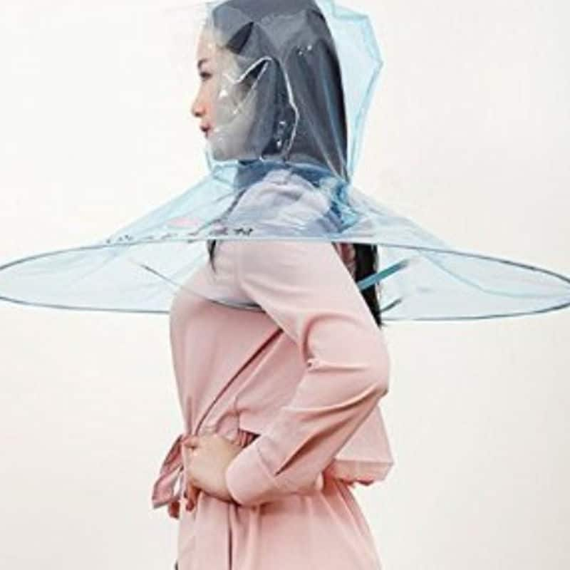 A Hands Free Umbrella: