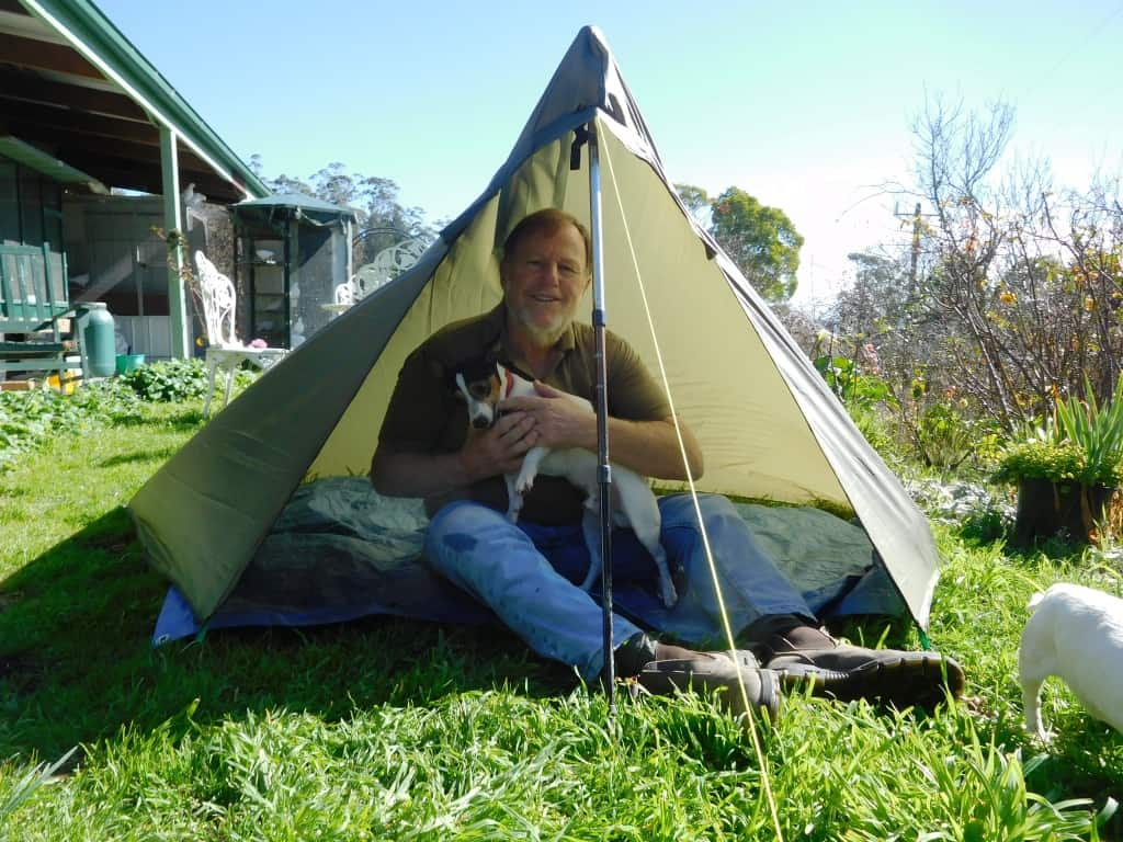 The Pocket Poncho Tent