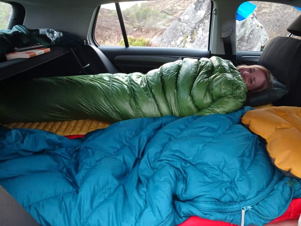 Car-Camper Conversion: $50