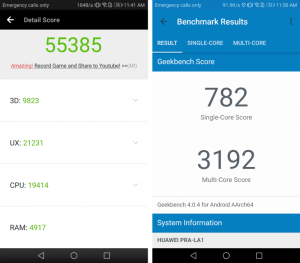 Honor 8 Lite Benchmark Tests