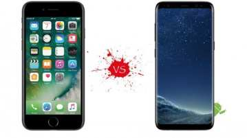 samsung galaxy s8 vs Apple iPhone 8