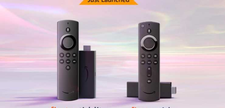 Amazon announces new Fire TV Stick and Fire TV Stick Lite for INR 3,999 and INR 2,999 respectively