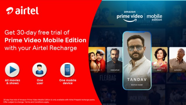 Prime Video Mobile Only Plan