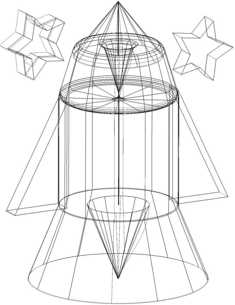 39- 3D Illustrator Figure