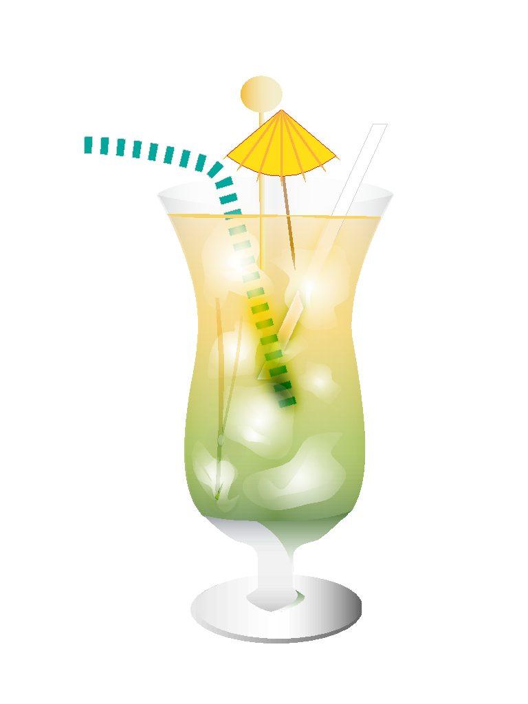 58- Cocktail Drink Illustration