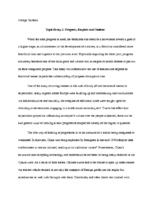 History Paper 2 – Progress, Empires and Nations (P32)