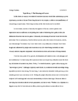 Sociology Paper 1 (P35)