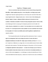 Sociology Paper 3 (P37)