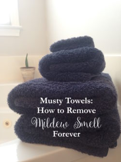 Help, My Towels Smell Bad!