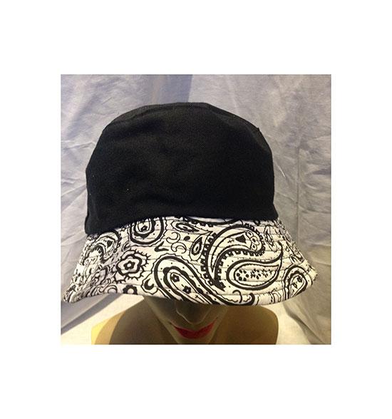 a6592efe493 Item Description  Black bucket hat
