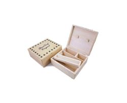Wood Roll Box Large 18cm X 15cm