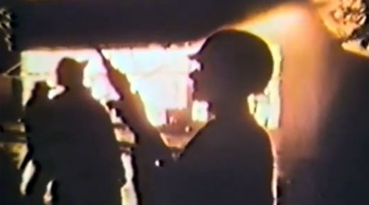 The synched archival footage make for some stunning shots in Detroit Rebellion's latest video.