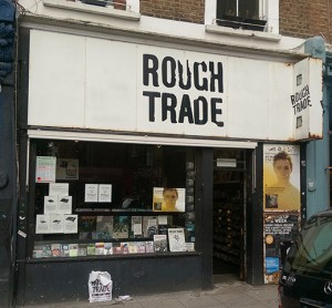 The outside of Rough Trade West. (Photo - D.Hixon)