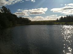 Lochan Uaithne on a sunny afternoon