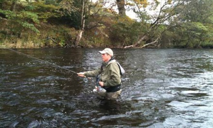 Grayling Fishing Course with Hywel Morgan and John Emerson