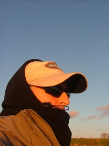 A cold day warmed by success