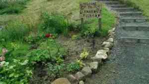 Glenbervie flowerbed