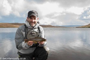 Glen with Brown Trout
