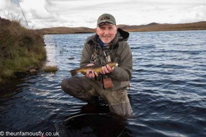 Me and a Drolsay Brown Trout