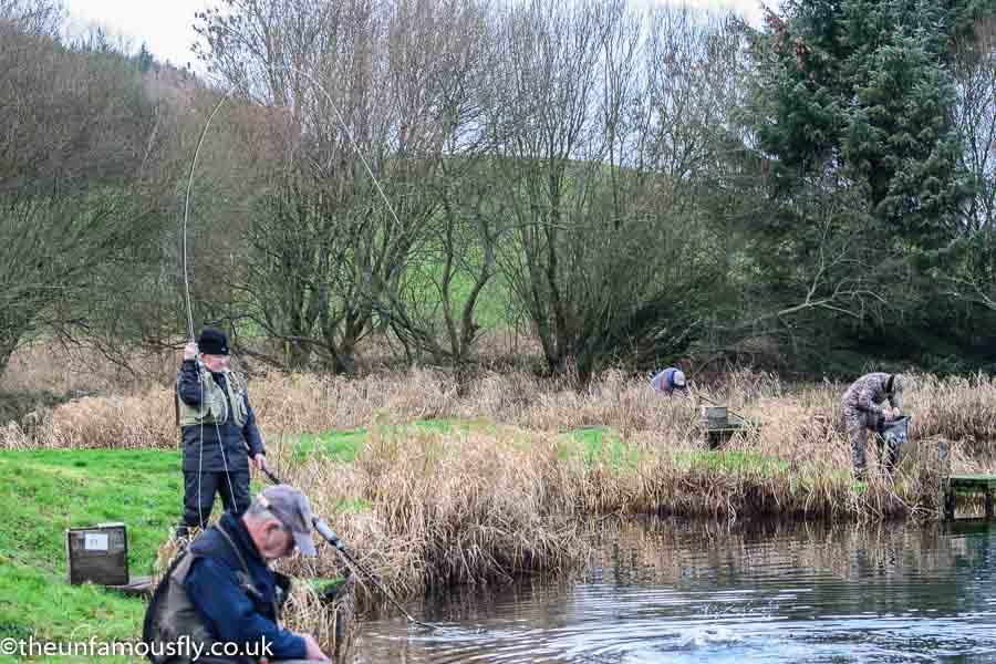 A rare fish taken nea the top pf the loch