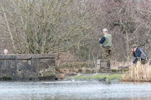 The odd fish came in at the dam wall
