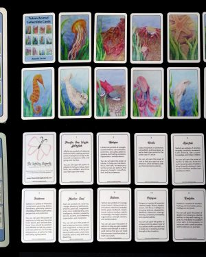 Collectible Cards - Totem Animal Collectible Cards: Aquatic Series