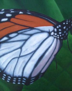 Poster - Monarch - Poster Of Butterfly Acrylic Paint Fine Art