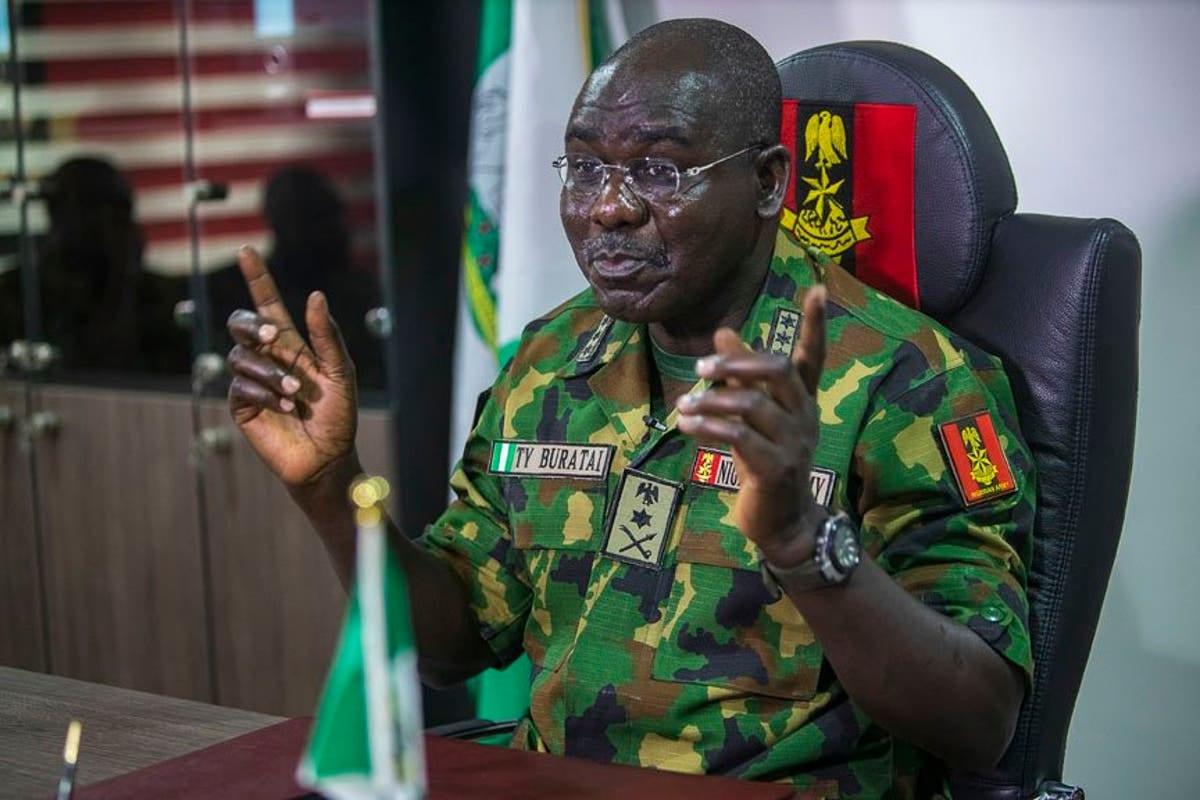 Tukur Buratai, Nigeria's Chief of Army Staff