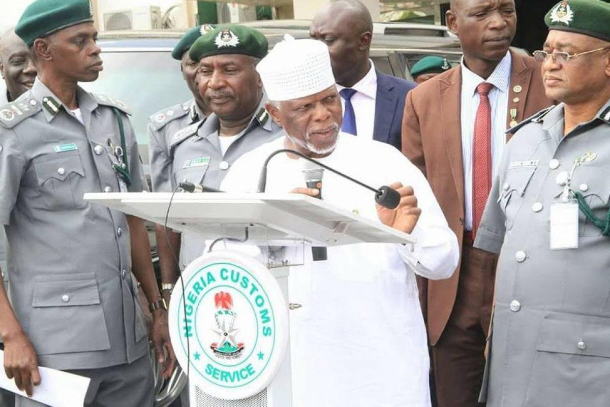 Nigerian Customs Service (NCS), Boss, Hammed Ali
