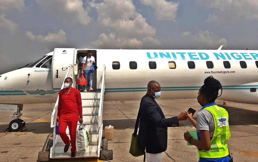 united nigeria airline