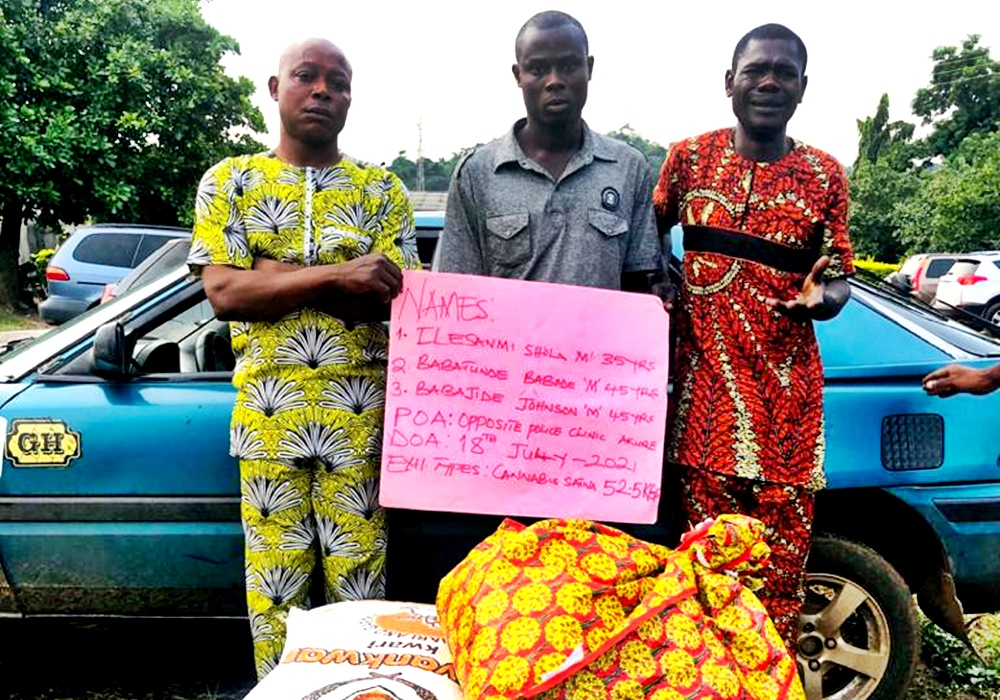 BREAKING: NURTW Chairman, 3 Others Arrested For Drug Trafficking In Ondo, Benue