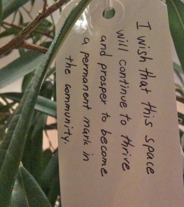 Yoko Ono Wish Tree will stand in the Uni