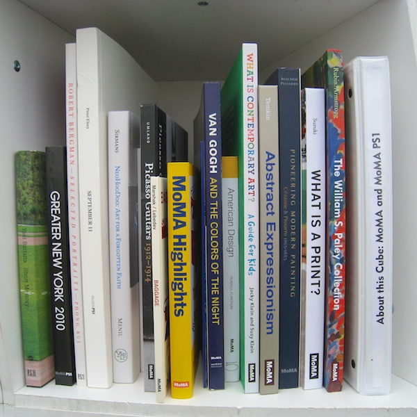Museum of Modern Art curates cube of books for Uni
