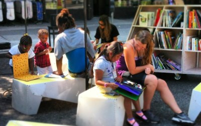 Uni returns to West Harlem Play Street with Harvest Home