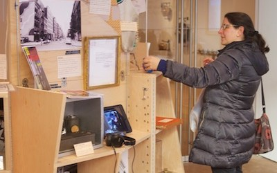 SoHo Memory Project pops up at Drawing Center with custom Uni cart